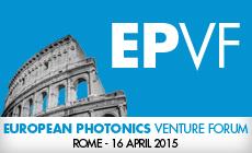 ITS aanwezig op het European Photonics Venture Forum 2015 in Rome  EPVF, European Photonics Venture Forum
