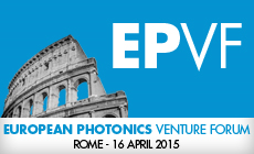 Thursday, April 15th 2015, ITS will be attending the first European Photonics Venture Forum in Rome